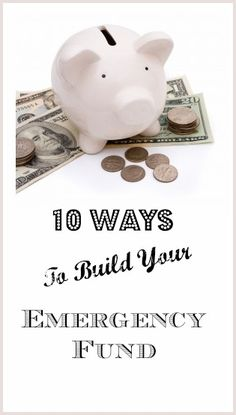 We'll show you 10 quick start ways to start an emergency fund!!!-->http://www.debtfreespending.com/10-tips-for-building-an-emergency-fund/