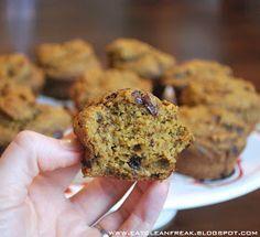 CLEAN FREAK: {clean} Pumpkin Chocolate Chip Muffins