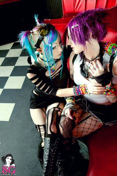 Suicide Girls cyber chick