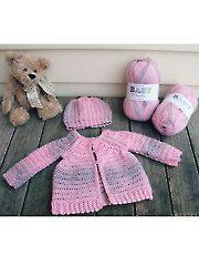 New Baby & Kids Crochet Patterns - Raglan Baby Sweater & Hat