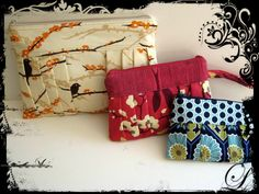 Aggie Wristlet Clutch Bag – PDF Sewing Pattern + Behind The Seams Online with Poppy Treffry #sewing