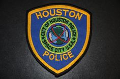 Houston Police Patch, Harris County, Texas
