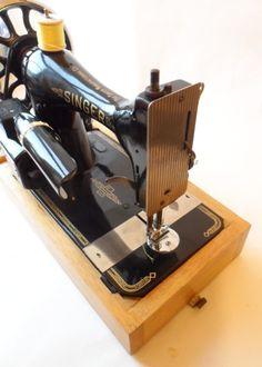 Antique Sewing Art Nouveau Singer Machine Vs3 Serial Number 12114230 Circa 1894 £55 #FollowVintage