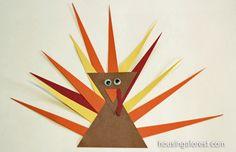 #Shape #Turkeys-So Cute!