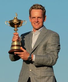 In Pictures: The Best-Dressed Athletes - Luke Donald  Golfer