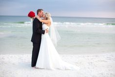 Why not elope at the beach? It's beautiful!