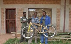 Zambikes, a Zambia-based business making bikes from bamboo... and using revenue to support its community #bikes #bamboo #biz