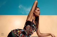 Doutzen Kroes – Vogue China Magazine (June 2012)