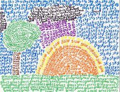 vocabulary words, draw something, word art, word work, teen art, spelling practice, summer scenes, art projects, spelling words