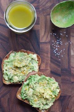 Avocado toast - healthy and delicious