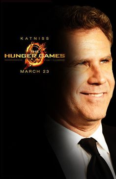 what do you get when you slow Katniss' voice down by 25%? Will Ferell. You may think you're prepared, but you are not. :) CLICK THE PICTURE