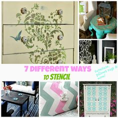 7 different ways to #stencil
