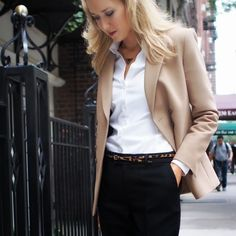the classy cubicle fashion blog for young professional women females woman girls 20s 30s 40s appropriate work wear office attire outfits professional corporate suit dos and donts crimes top ten day to night transition interview preppy office style dress for success