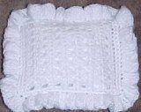 Doll Pillow | AllFreeCrochet.com pillow free, doll pillow, yarn, doll houses, hous pillow