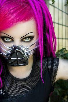 pink cybergoth