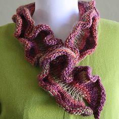 Universal Yarn DanDoh Scarf 2 - Knitted Hug for Japan (Free) at WEBS | Yarn.com