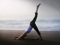 yes,yoga at the beach.
