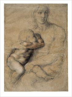 draw, sketch, florence, breastfeed art, mother, michelangelo buonarroti, children, madonna, artist