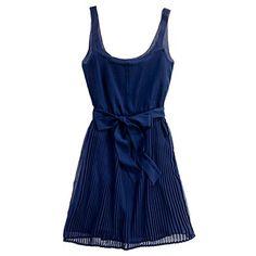 Silk Slideshow Dress in juniper berry