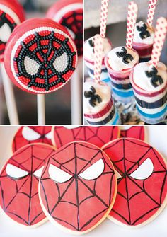 The Amazing Spiderman Birthday Party