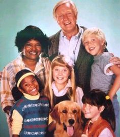 The whole crew from Punky Brewster , this picture makes me so happy