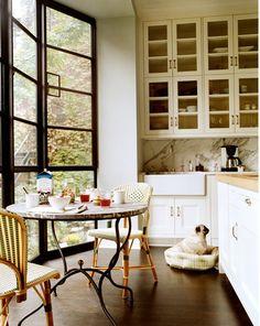 Katie Lee Joel's West Village Kitchen designed by Nate Berkus & featured in Domino
