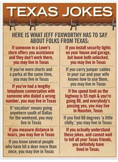 If you're noddin' vigorously or laughin' at any of these, ya' might have lived in Texas.