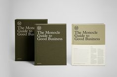 Monocle Guide to Good Business 001 / books / business /