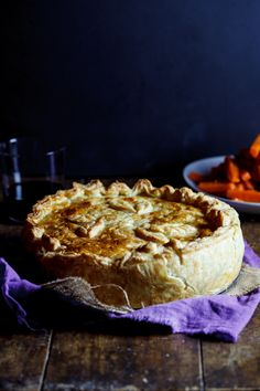 Scrumptious Chicken pie. The ultimate chicken pie.....this looks and sounds like a very yummy, very well worth the work.