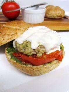 Pesto Chicken Burger