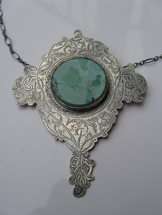 Victorian torquoise necklace