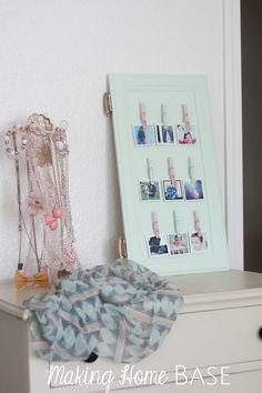 Instagram Photo Display from a Cabinet Door porta de armario