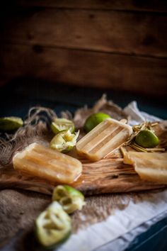 Boozy Lime, Honey, & Lemongrass Popsicles | Adventures in Cooking