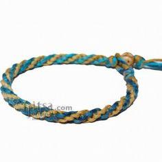 hemp bracelets | Round Hemp Bracelets/Anklets - CraftStylish