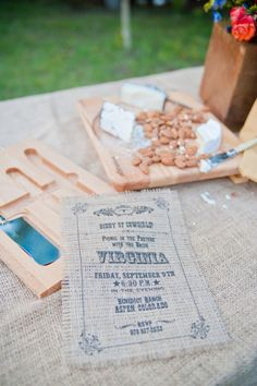 Rustic Country Wedding Idea