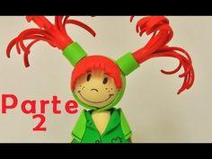Fofuchas - muñeca de goma eva (foamy doll) parte 2