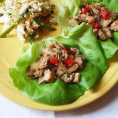 Chicken Lettuce Wraps | Recipes | Spoonful