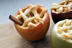 Cheesy Apple Pie… in Apples!