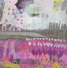 curtain  ~ mixed media ~ by jennifer mercede
