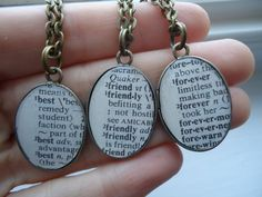 Three Best Friends Forever Necklace SetThree Best Friends Forever Necklace