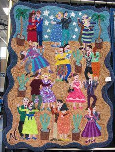 rug hooking inspiration