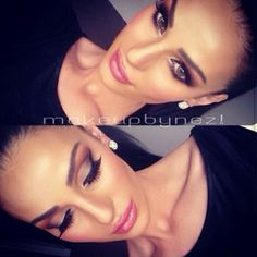 Cut crease eyeshadow makeup