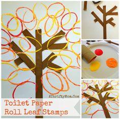 Fall Leaves Craft ma