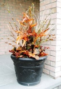 Outdoor Decorating -Fall