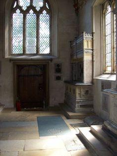 The Sidney Chapel in St John the Baptist Church, Penshurst - resting place of Thomas Boleyn the Younger.