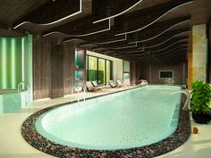 Perfect indoor pool