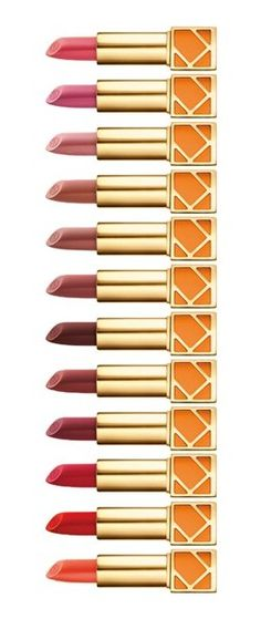 Kiss, kiss! Loving Tory Burch's lip colors.