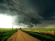 Kansas of course.. Love me some tornado watches, lightning shows and thunderstorms!