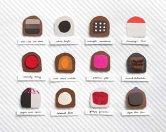 chocolate: a print by katie evans