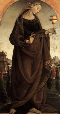 Master of the Story of Griselda    Artemisia  1492  Oil on panel, 88 x 46 cm  Museo Poldi Pezzoli, Milan
